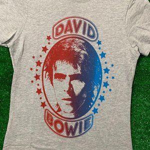 David Bowie V01 Music Legend Icon Ladies T Shirt